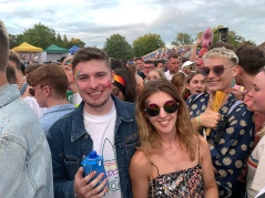 Rosie and I at Brighton Pride