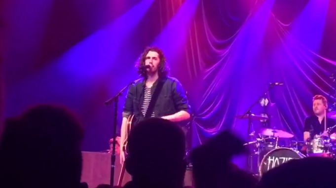 Hozier live performance at the O2 Academy Birmingham