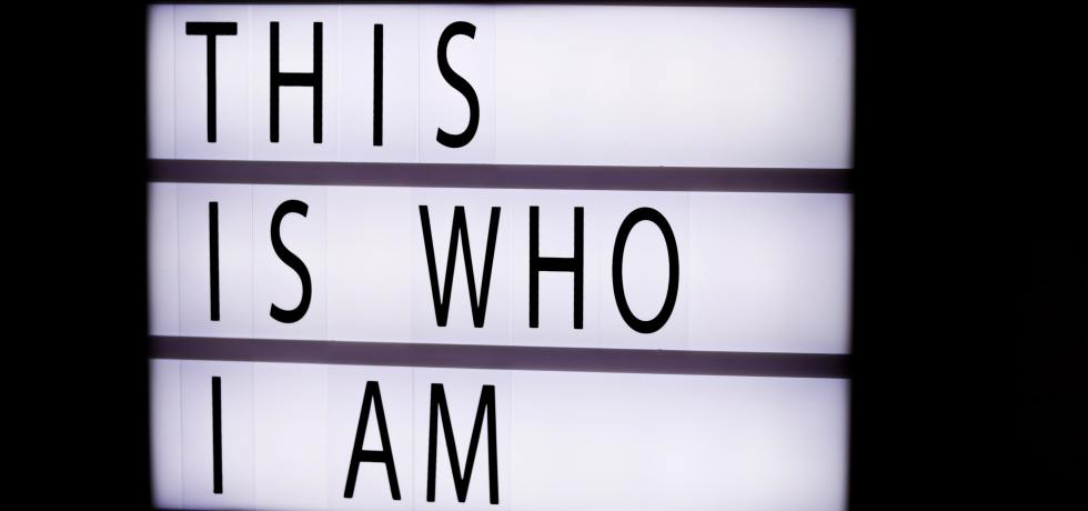 This is who I am board by Felicia Buitenwerf on Unsplash