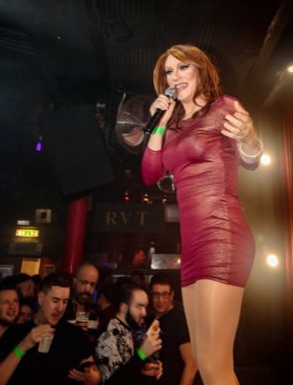 Coral Deville at the RVT